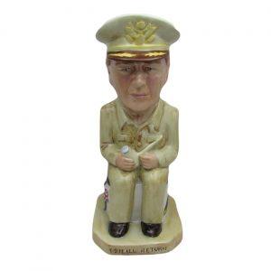 General Douglas MacArthur Toby Jug
