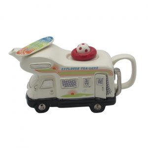 Motor Home Teapot by Ceramic Inspirations