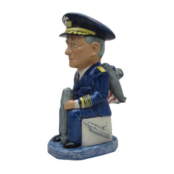 Admiral Chester Nimitz Toby Jug Baistow Pottery