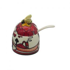 Old Tupton Ware Noon Design Honey Pot