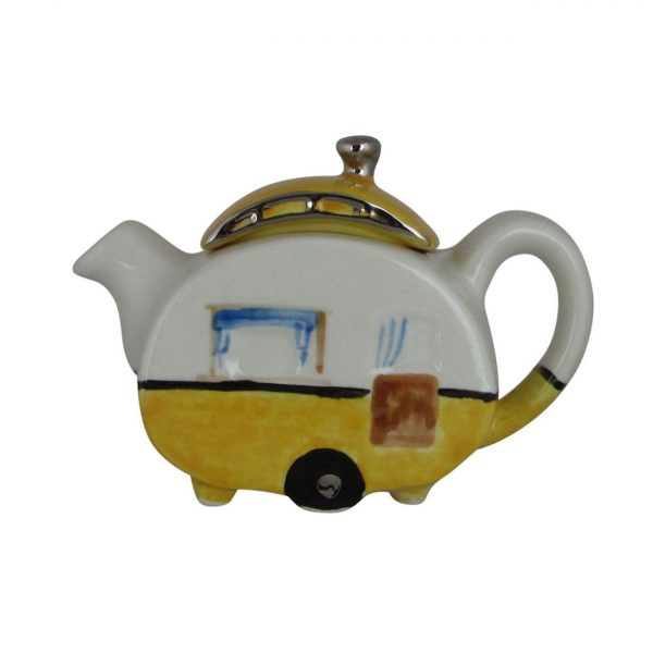 Caravan One Cup Yellow Colourway Teapot Carters of Suffolk