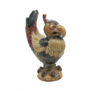 Perez Grotesque Bird Figure by Burslem Pottery