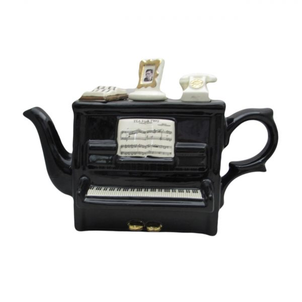 Piano Teapot Full Size Teapot by Carters of Suffolk