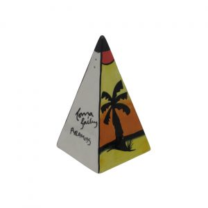 Pyramids Design Sugar Shaker Lorna Bailey Artware
