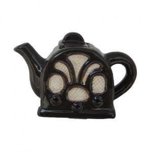 Radio One Cup Teapot Black Colourway Carters of Suffolk
