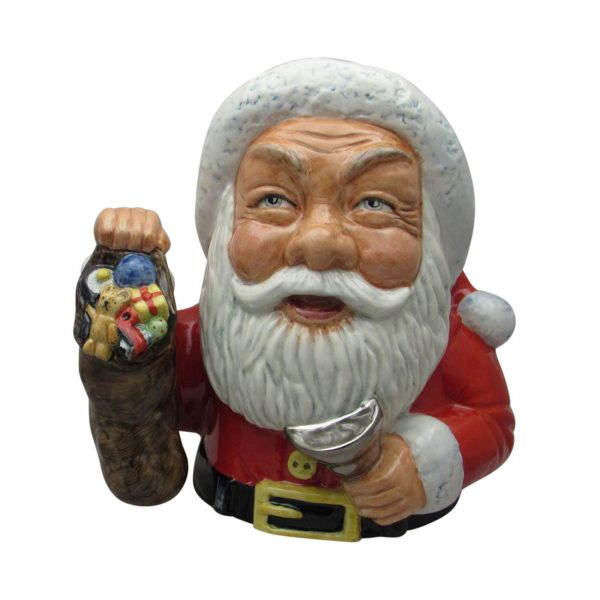 Santa Claus Toby Jug Special Edition Bairstow Pottery