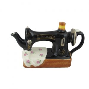 Sewing Machine Teapot Carters of Suffolk Collectors Teapot