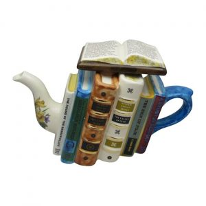 Sherlock Holmes Books Large Teapot Carters of Suffolk