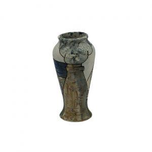 Smokie Potteries Design Vase Burslem Pottery