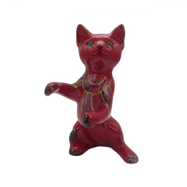Standing Kitten Art Deco Style Design Anita Harris Art Pottery