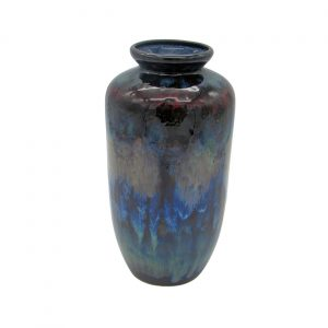 Water Explosion Design Hand Thrown Vase Anita Harris Pottery