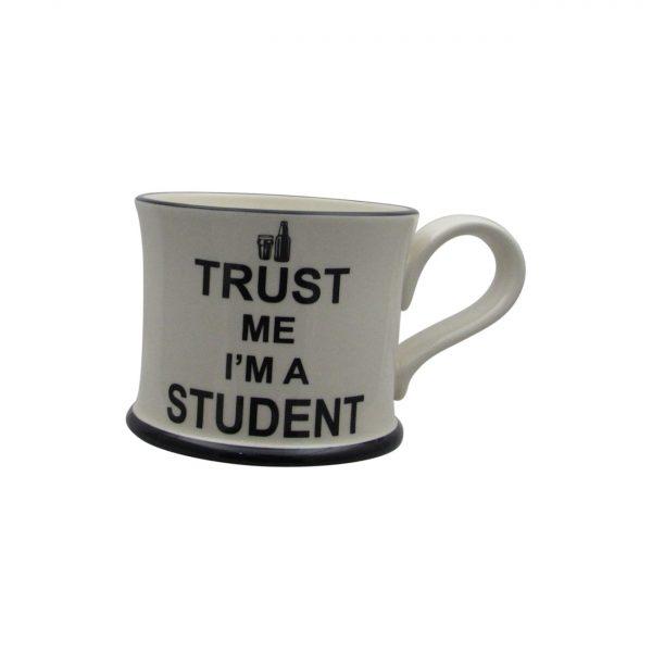 Moorland Pottery Trust Me I'm A Student Mug.