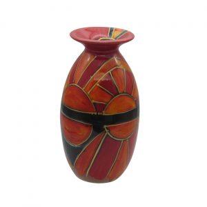 Sun Blaze Design Vase Anita Harris Art Pottery