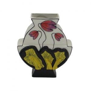 Toadstools Pattern Vase Lorna Bailey Artware