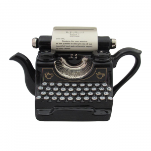 Typewriter Teapot Full Size by Carters of Suffolk