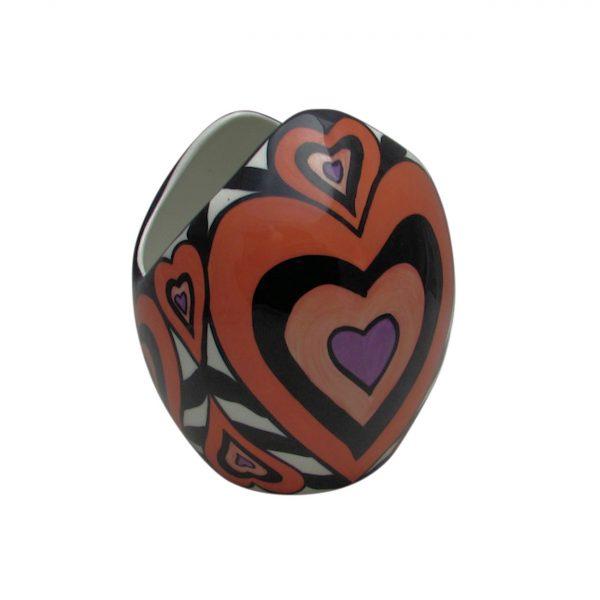 Valentine Design Vase from Lorna Bailey Artware
