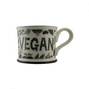 Moorland Pottery Trust Me I'm A Vegan Mug