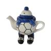 Walking Footballer Teapot Blue Colourway Carters of Suffolk