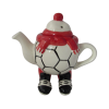 Walking Footballer Teapot Red Colourway Carters of Suffolk