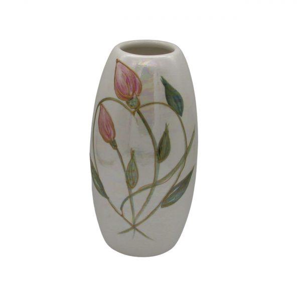 Entwined Heart Design 17cm Vase Anita Harris Art Pottery