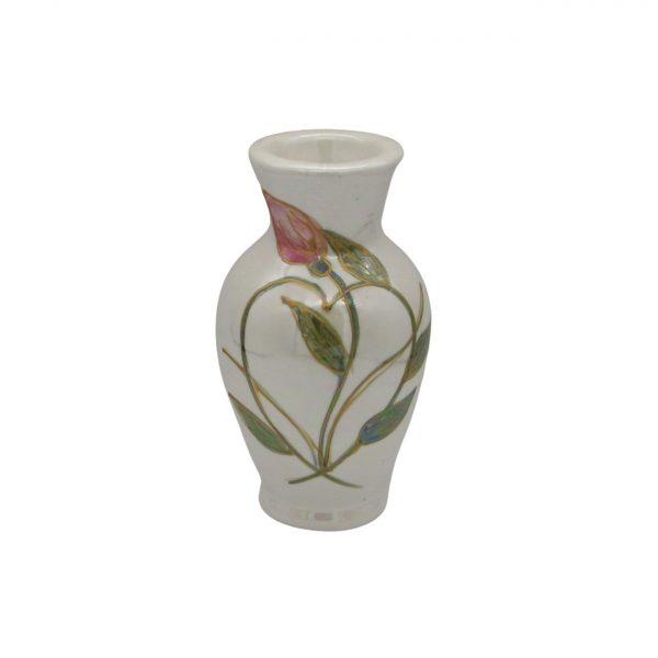 Entwined Heart Design 13cm Vase Anita Harris Art Pottery