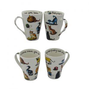 Cat Tea Cat Mugs Paul Cardew International