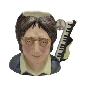 John Lennon Toby Jug Yellow Colourway Bairstow Pottery