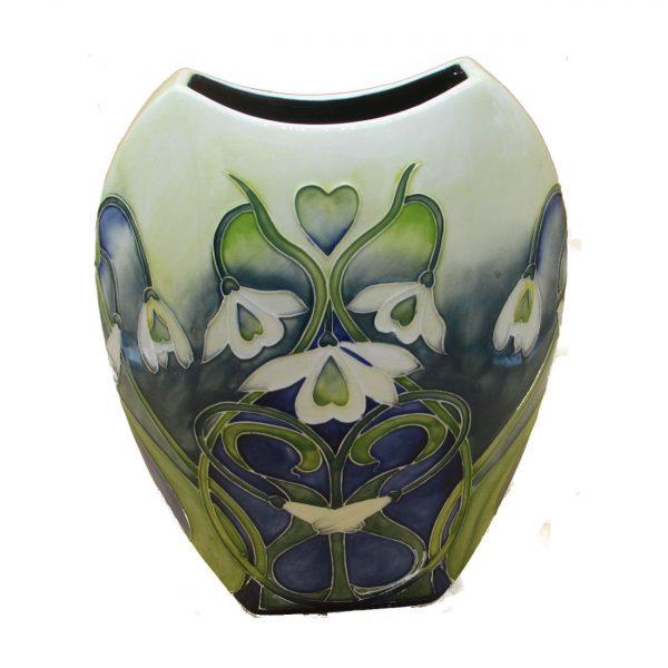 Snowdrop Design 12 inch Vase Old Tupton Ware