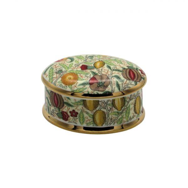 William Morris Pomegranate Fruit Design Trinket Box C D Designs