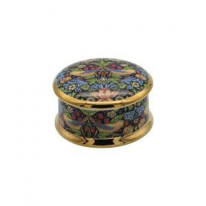 William Morris Strawberry Thief Design Trinket Box CD Designs