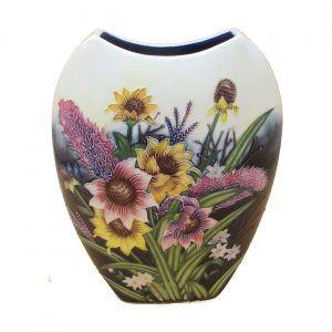 Summer Bouquet Design 12 inch Vase Old Tupton Ware