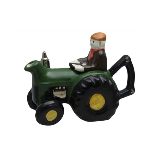 Farm Tractor One Cup Teapot Green Carters of Suffolk