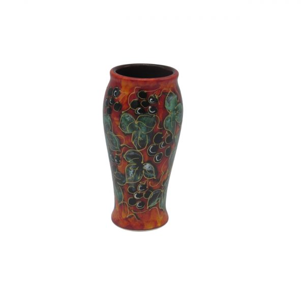 Winter Ivy 17cm Vase Anita Harris Art Pottery
