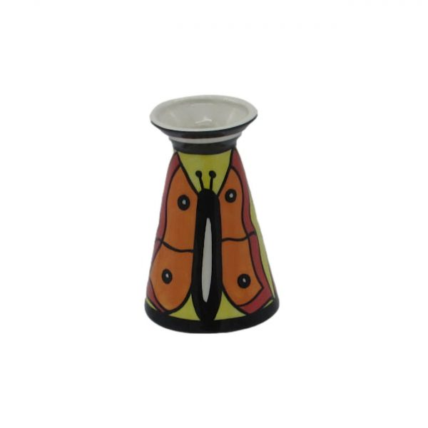 Butterfly Design Open Day Vase. Lorna Bailey