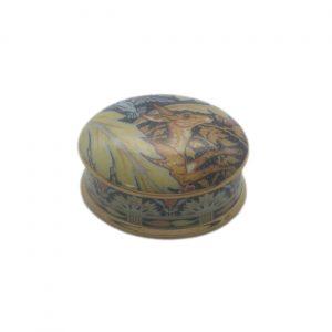 Deer and Fern Oval Trinket Box | Walter Crane