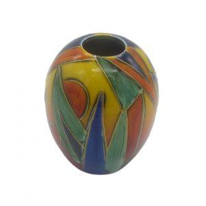Jazz Design Vase Style One Anita Harris Art Pottery