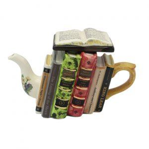 William Shakespeare Books Teapot Carters of Suffolk